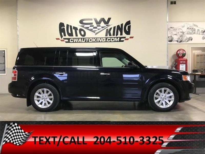 2010 Ford Flex SEL/6 Passanger/Rear Air/Heat/Quads/Front Wheel #20042389
