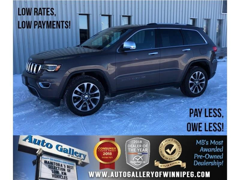2018 Jeep Grand Cherokee Limited *AWD/Htd Lthr/Pano Roof/Navi/V6 #23708