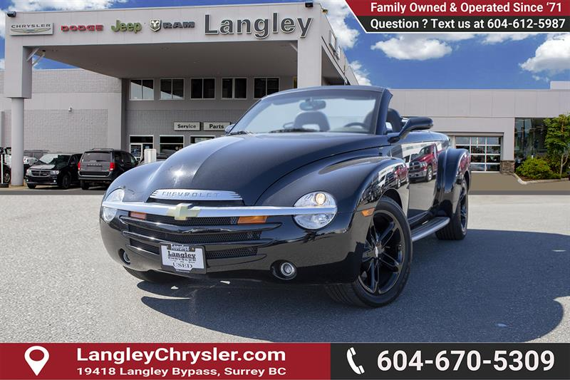 2003 Chevrolet SSR Used for sale in Surrey at Langley Auto Loans