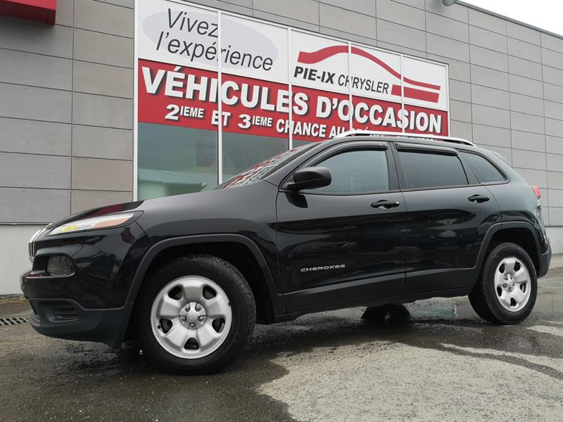 2014 Jeep Cherokee FWD 4dr Sport #UD5151