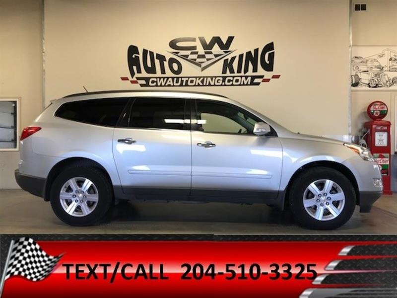 2012 Chevrolet Traverse 1LT/ 8 Passanger / Low Kms/ Rear Air,Heat,DVD #20042392