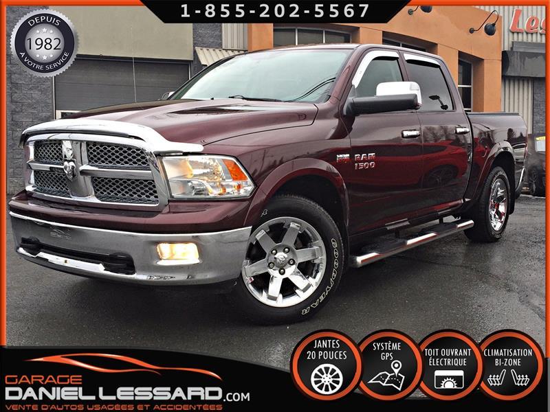 Dodge Ram 1500 2012 4 X 4, CUIR, TOIT, GPS, MAG 20 CHROMÉ #29150