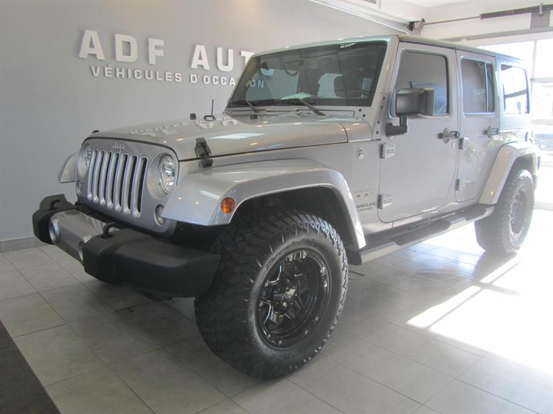 2016 Jeep Wrangler Unlimited UNLIMITED SAHARA NAVIGATION 2 TOITS #4432