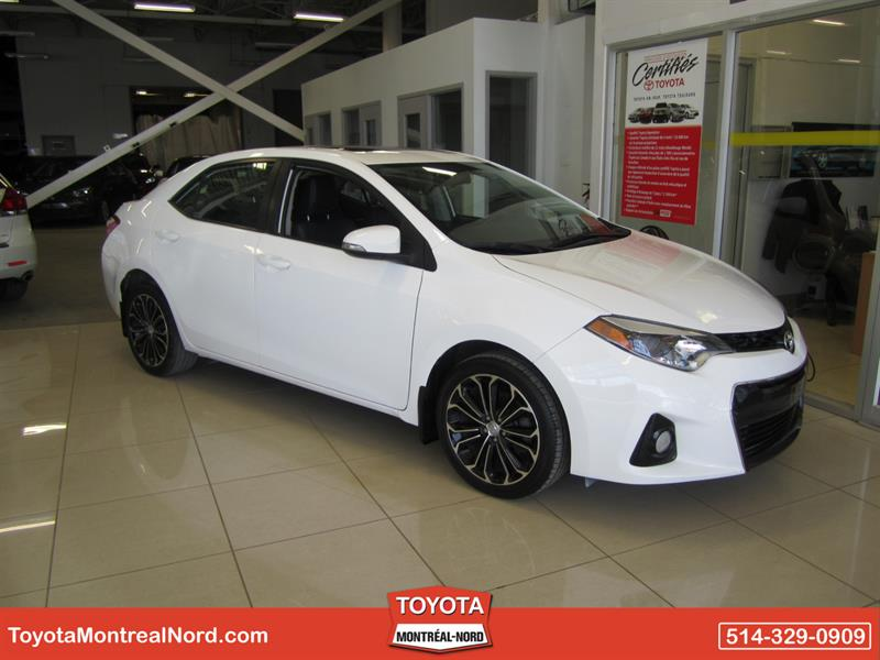 Toyota Corolla 2014 S + Toit + Mags+ Cuir #3635 AT