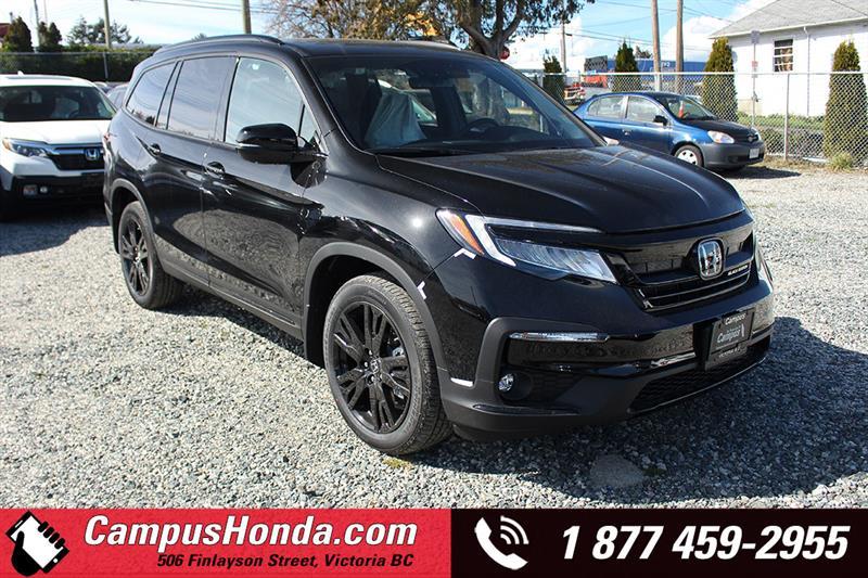 2019 Honda Pilot Black Edition #19-0497