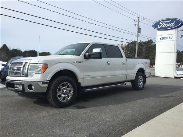 Ford F-150 LARIAT*ECOBOOST 3.5L*GPS* 2012 #01569A