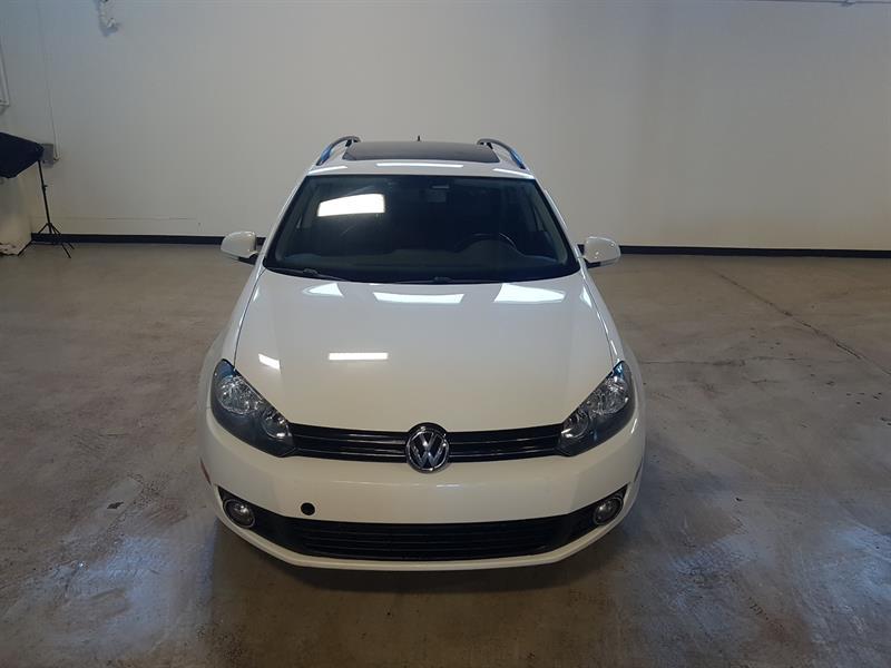 Volkswagen Golf Wagon 2013 TDI Highline - GPS - TOIT - CUIR #529