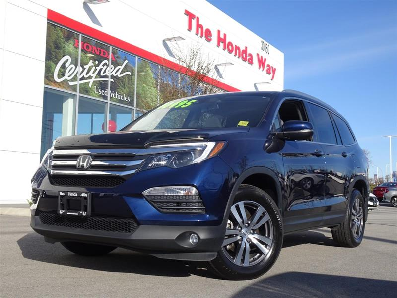 2017 Honda Pilot EX-L w/Navigation AWD Warranty until 2024/160,000k #19-377A