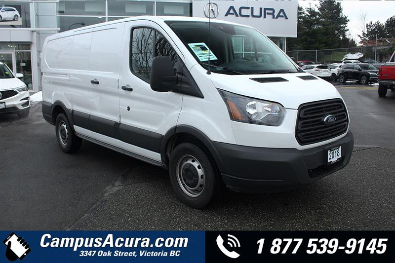 2018 Ford Transit Van T-150 130 Low Rf 8600 GVWR Swing-Out RH Dr #AC0958