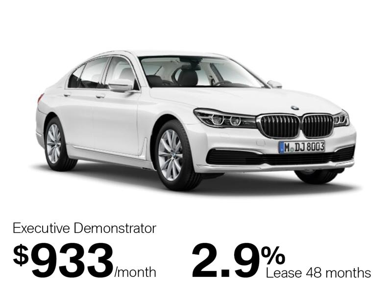 2019 BMW 7 Series 750i xDrive Sedan #K0110