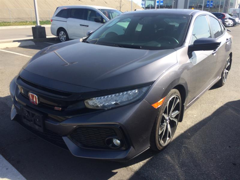 2017 Honda Civic Sedan SI MT! Honda Certified Extended Warranty to  #Y0340A