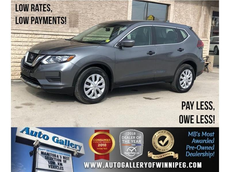 2018 Nissan Rogue S *Htd Seats/Bluetooth/Backup Cam #23792