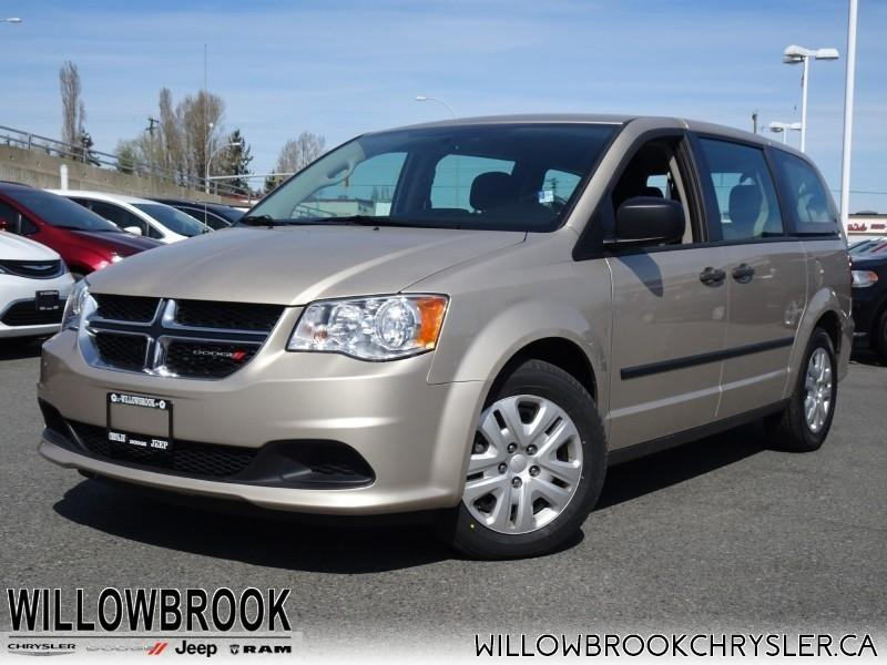 2015 Dodge Grand Caravan Canada Value Package #19UP119