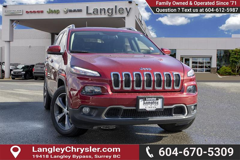 2016 Jeep Cherokee Limited #K209464A