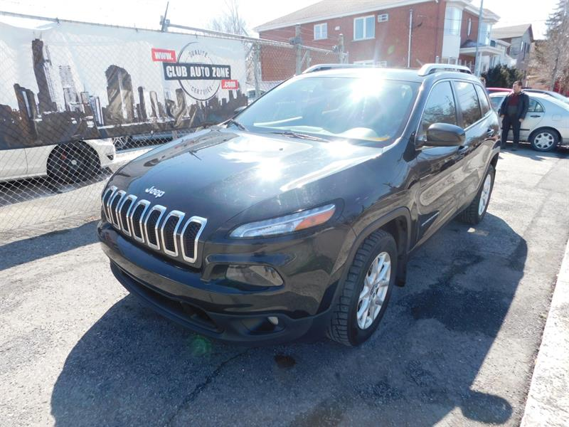 Jeep Cherokee 2015 NORTH 4X4 TOIT PANORAMIQUE BLUETOOTH #FW765728