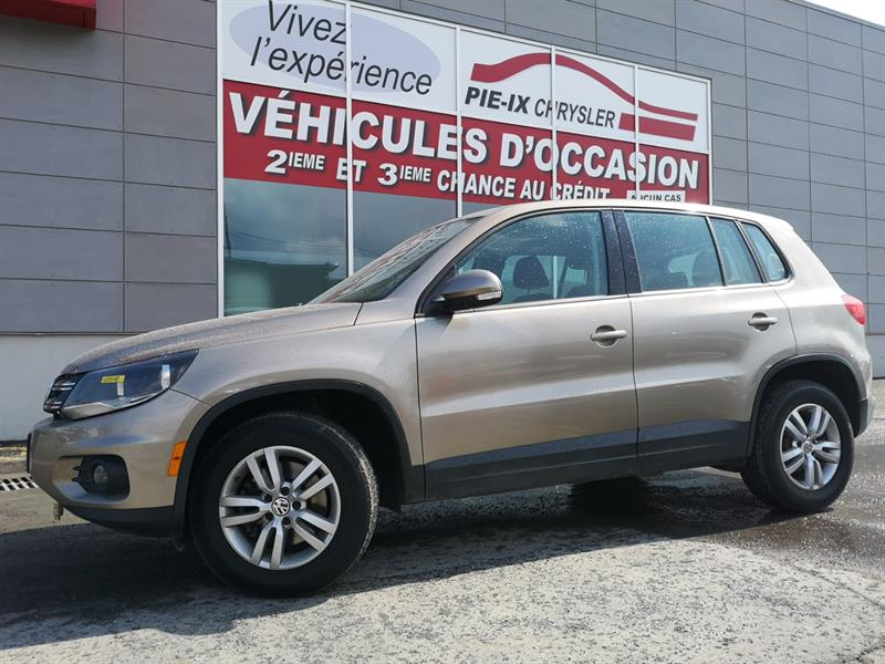 Volkswagen Tiguan 2015 4MOTION 4dr Auto Trendline mags bluetooth  #UD5142