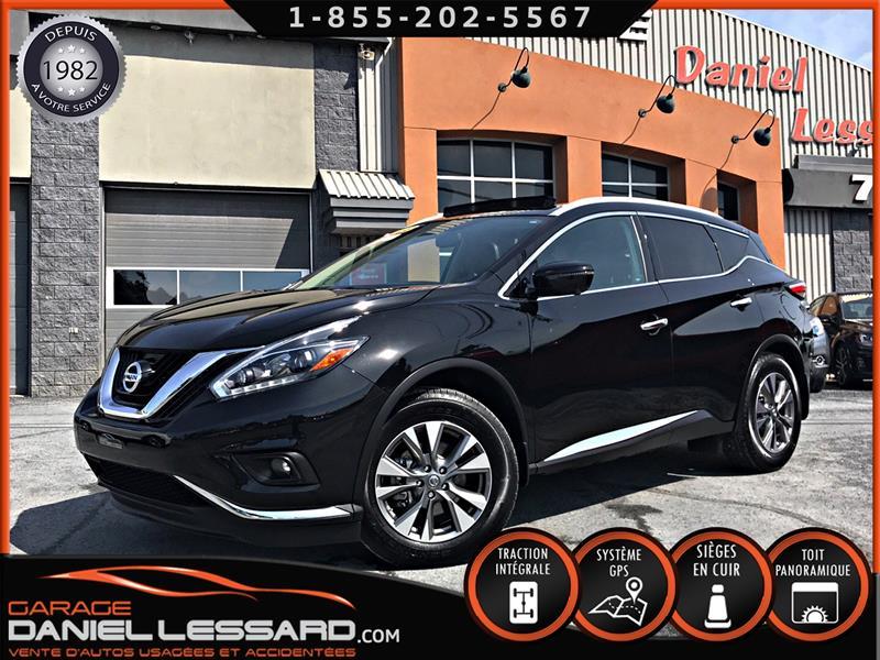 Nissan Murano 2018 SL, AWD, * PAS VGA * TOIT PANO, FULL EQUIPE, PRÊT! #88307