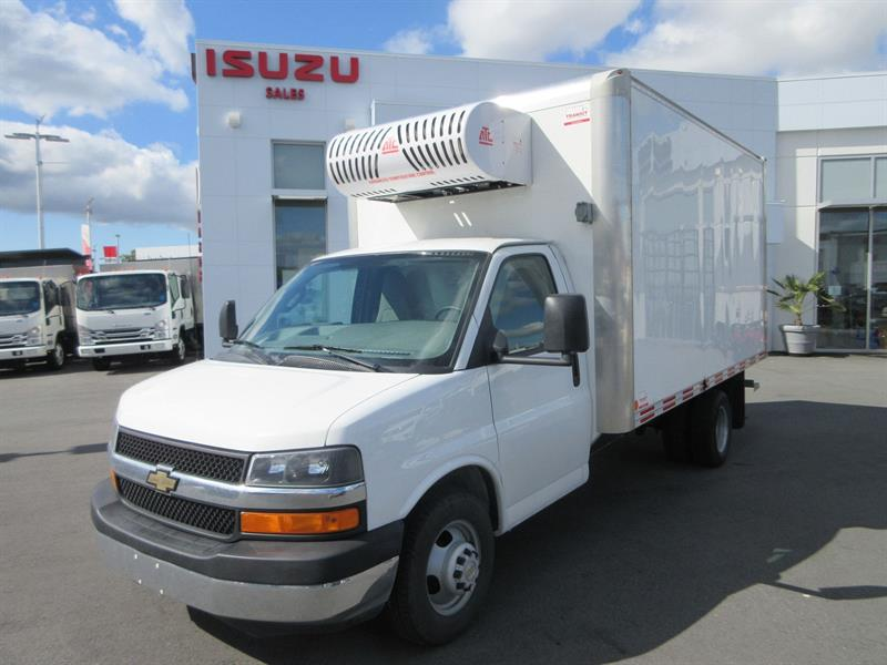 2016 GMC GM 4500 14FT Reefer Van #U7223