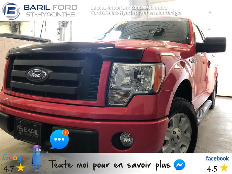 Ford F-150 2012 2WD SuperCab 145 #80705a