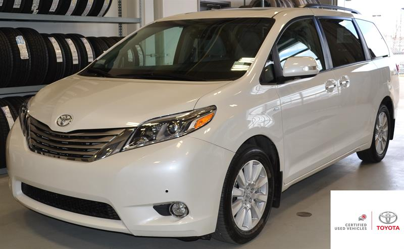 2017 Toyota Sienna Limited 7-Pass #P1284