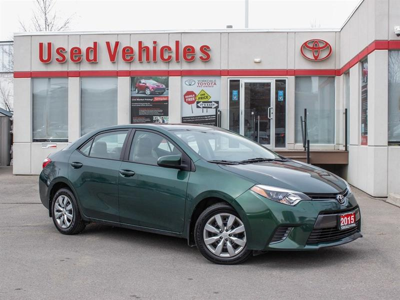2015 Toyota Corolla LE   H.Seats   R.Cam   B.Tooth   Keyless #P7917