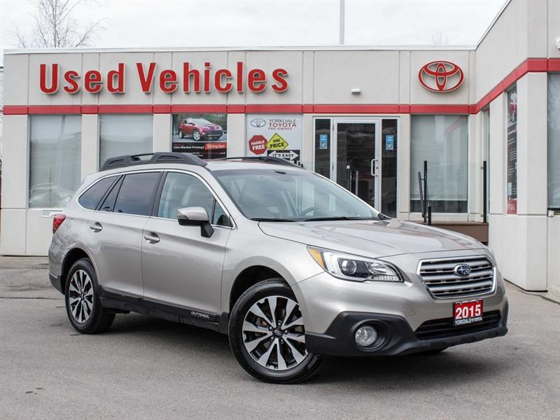 2015 Subaru Outback 3.6R Limited   Tech Package   Navi   Leather #P7948
