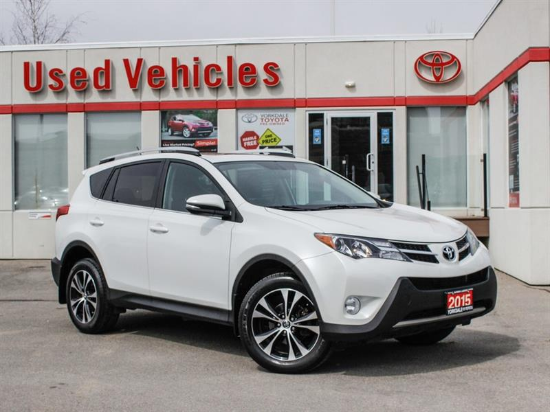 2015 Toyota RAV4 XLE AWD   Navi   Sunroof   Alloys #P7956