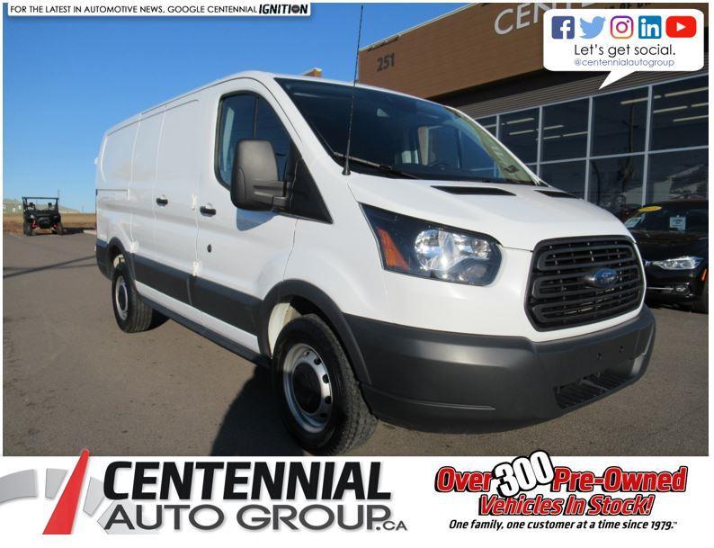 2017 Ford Transit Cargo Van T-250 130 Low Rf 9000 GVWR Swing-Out RH Dr #U736