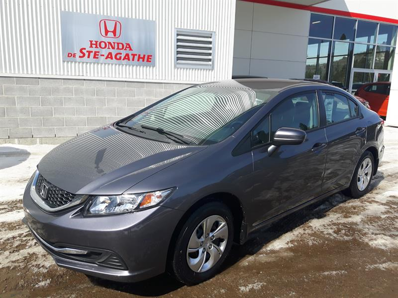 Honda Civic 2015 Man LX *Bluetooth, A/C, cruise, camera  #k113a