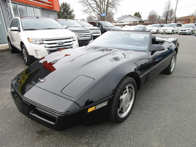 Chevrolet Corvette 1989 2dr Convertible #2474a