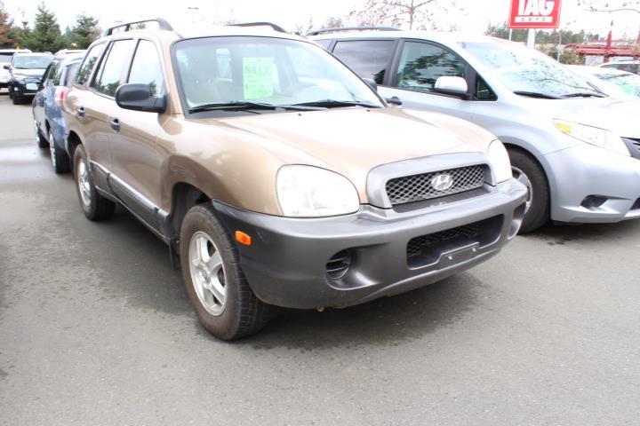 2004 Hyundai Santa Fe 4dr SUV GL FWD 2.4L Manual #12407B