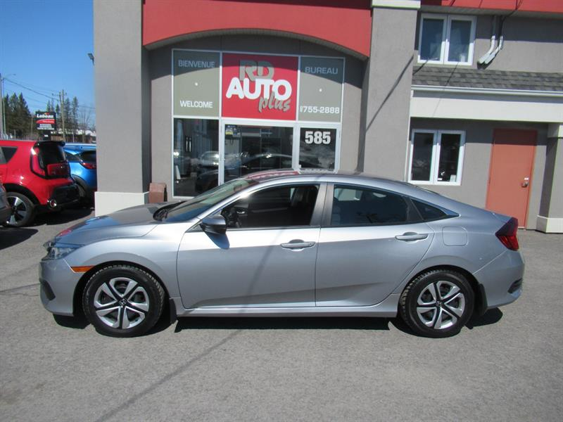 Honda Civic Sedan 2016 4dr CVT LX #10326