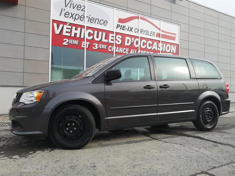 Dodge Grand Caravan 2016 4dr Wgn Canada Value Package #UD5171
