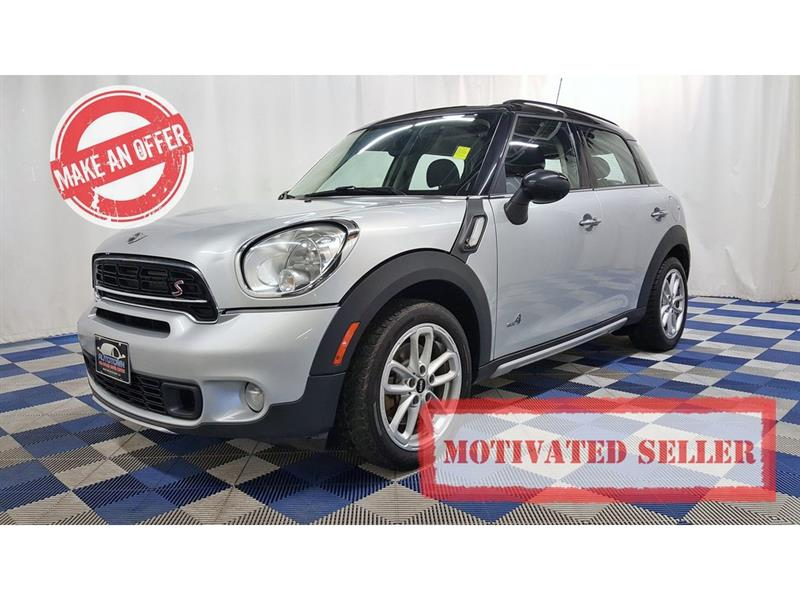 2015 Mini Cooper Countryman Cooper S AWD/ACCIDENT FREE/LEATHER/SUNROOF #15MC44251