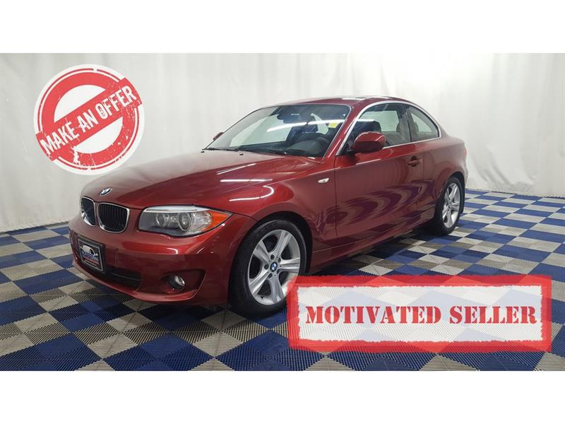 2012 BMW 128I HTD SEATS/SUNROOF/LEATHER #LUX11BX78404A