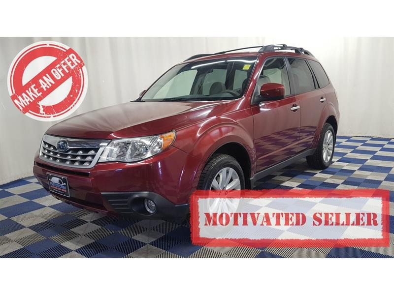 2011 Subaru Forester 2.5 X Limited Pkg/NAV/LEATHER/TOUCH SCREEN #11SF40111