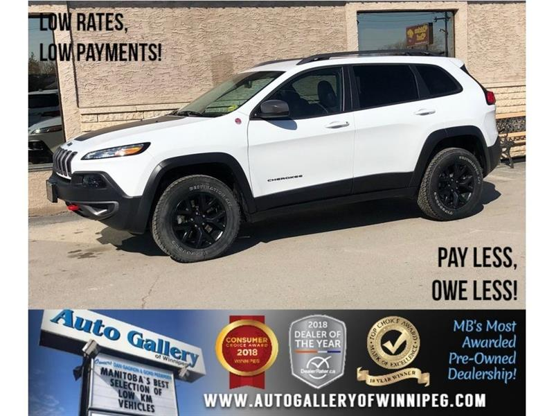 2016 Jeep Cherokee Trailhawk *4X4/Htd Lthr/Bluetooth #23820