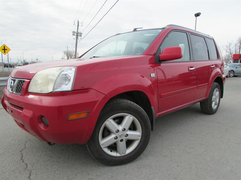 Nissan X-Trail 2005 SE AWD MAN. A/C CRUISE TOIT OUVRANT!!! #4336