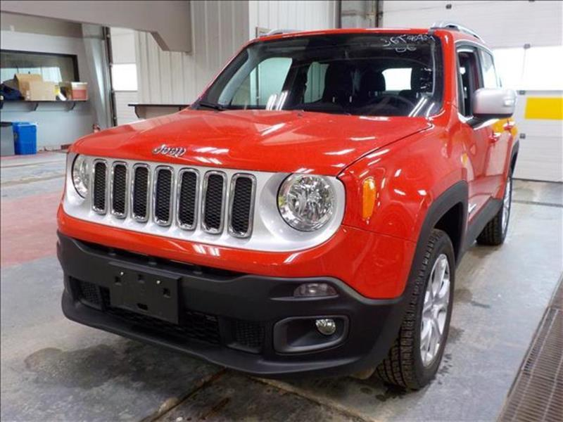 2018 Jeep Renegade Limited *4WD/Htd Lthr/Navi/Bluetooth #23835