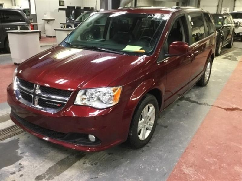 2018 Dodge Grand Caravan Crew Plus *Lthr/Navi/Backup Cam #23833