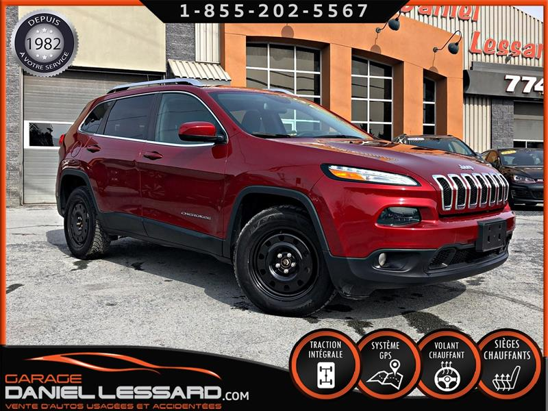 Jeep Cherokee 2016 NORTH, 4X4, 6 CYL, CAM RECUL, GR ELEC, GPS, A VOIR #69164