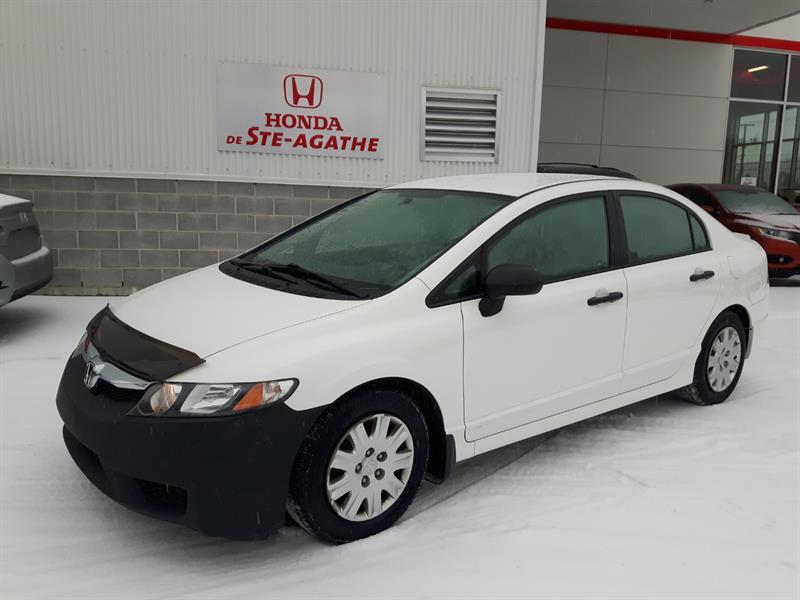 Honda Civic 2010 Auto DX-A * vitres électrique, sur pneus hiver... #p9419