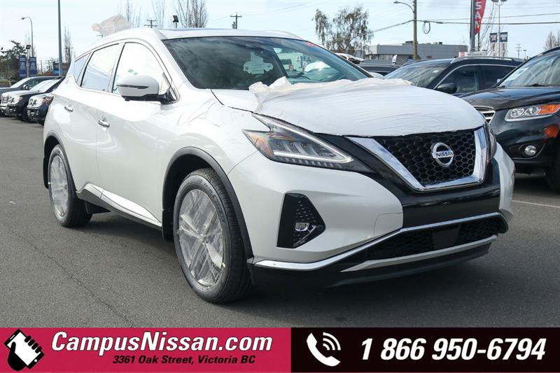 2019 Nissan Murano Platinum AWD w/ Leather & Moonroof #9-Q339-NEW