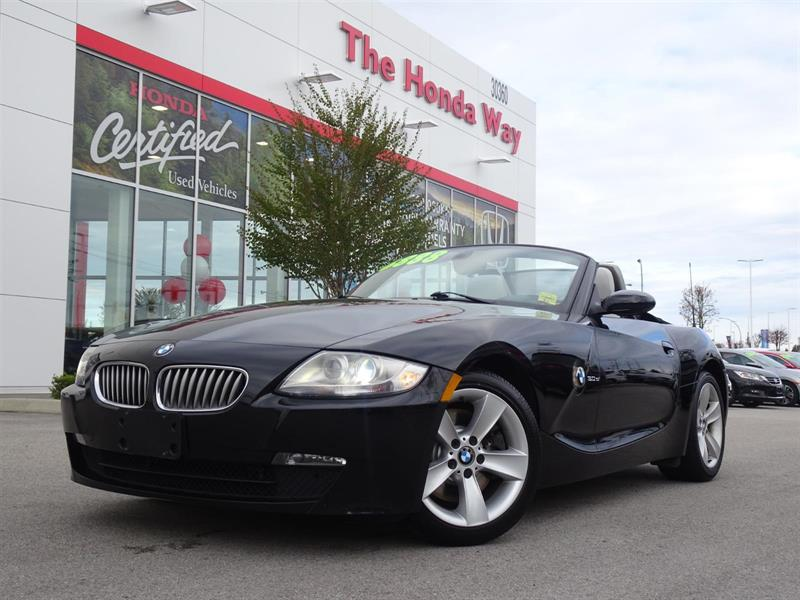 2006 BMW Z4 Z4 3.0si - LEATHER, HEATED SEATS, ALLOY WHEELS #P5286A