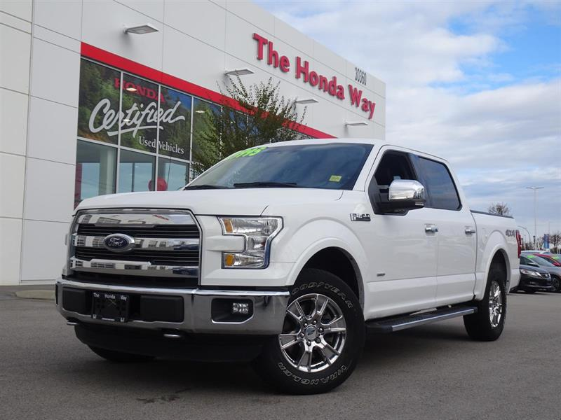 2015 Ford F-150 LARIAT SuperCrew 5.5-ft. Bed 4WD #19-279A