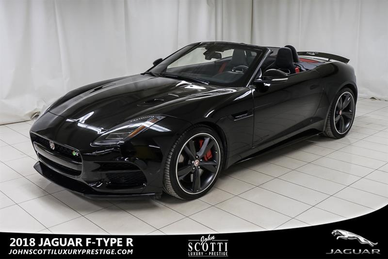 2018 Jaguar F-TYPE R #C0373