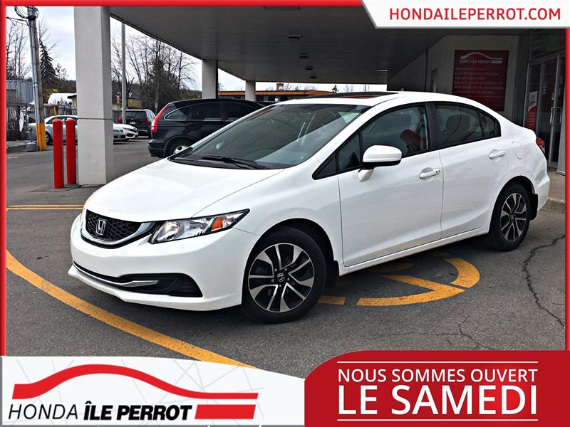 Honda Civic Sedan 2014  Man EX A QUI LA CHANCE !  #44924