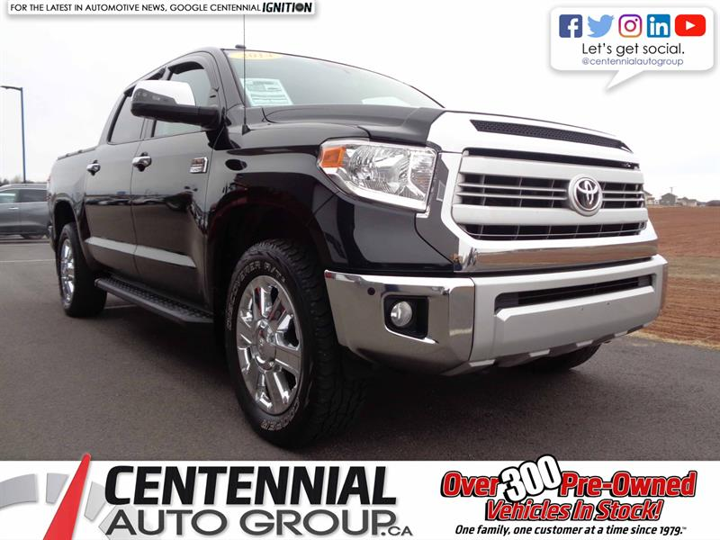 2014 Toyota Tundra Platinum 1794 Edition | Local Trade #S18-213B