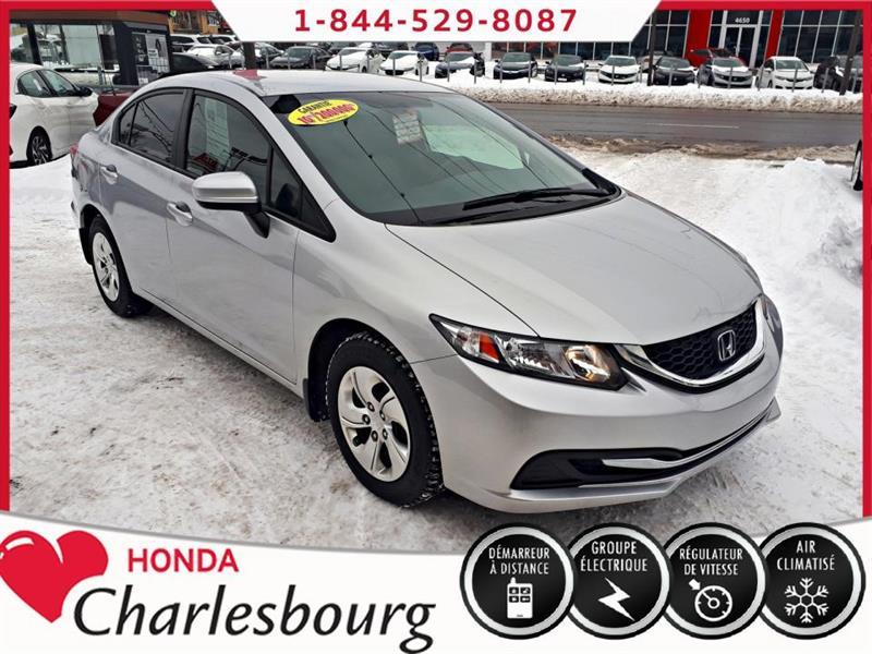 Honda Civic 2014 LX AUTOMATIQUE **49 511 KM** #UL19687