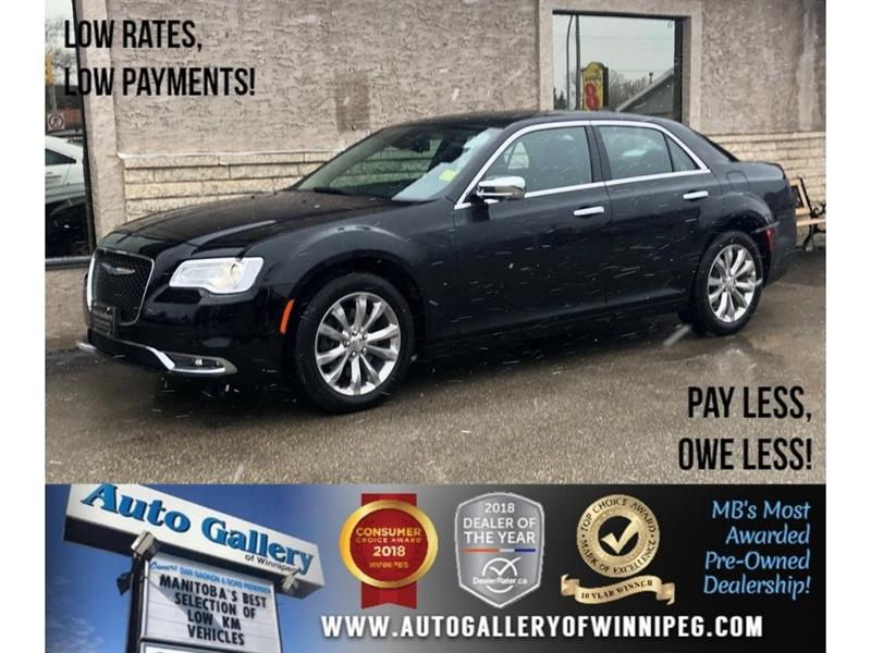2018 Chrysler 300 Limited *AWD/Lthr/Bluetooth/Navi/Roof #23817